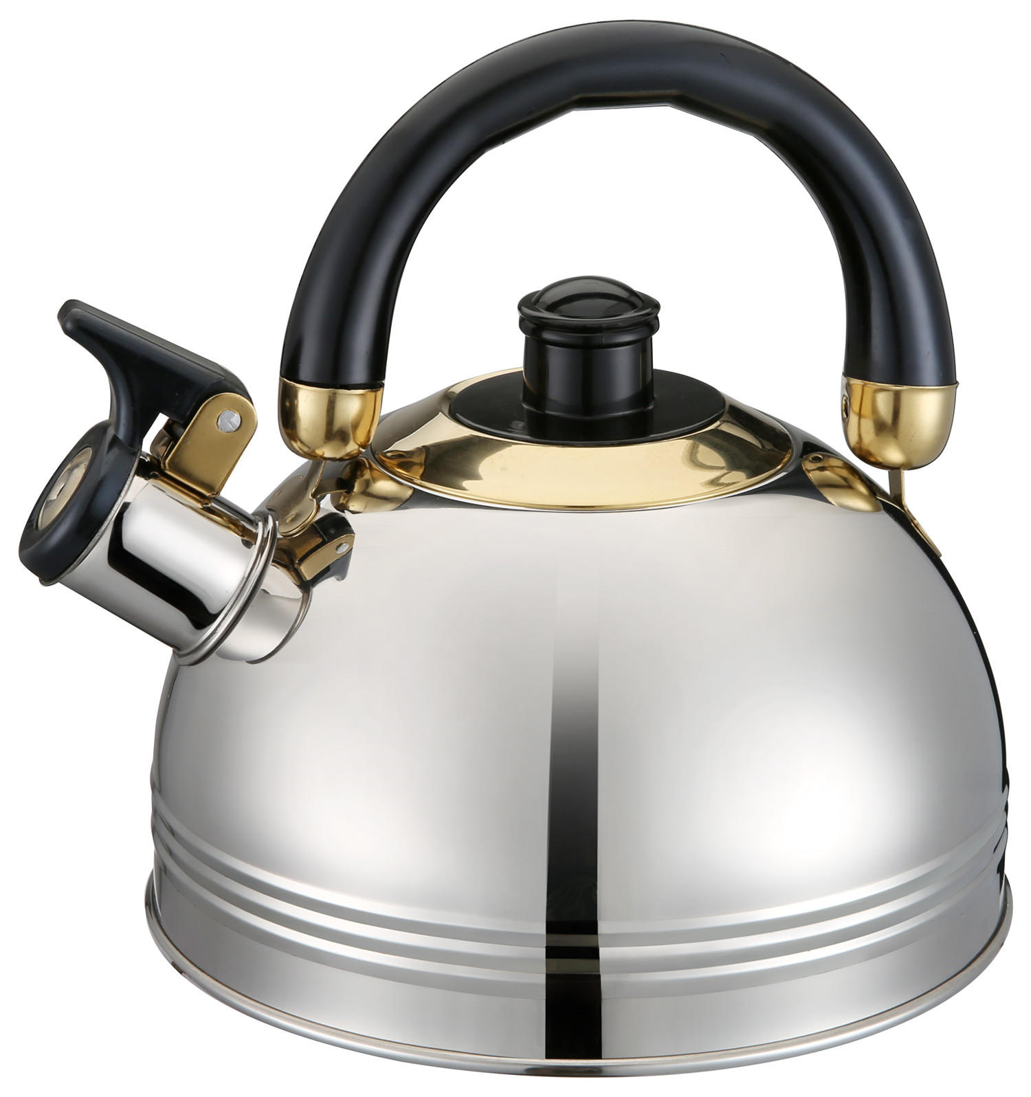 Large Capacity Home Kitchen Stainless Steel Whistling Kettle