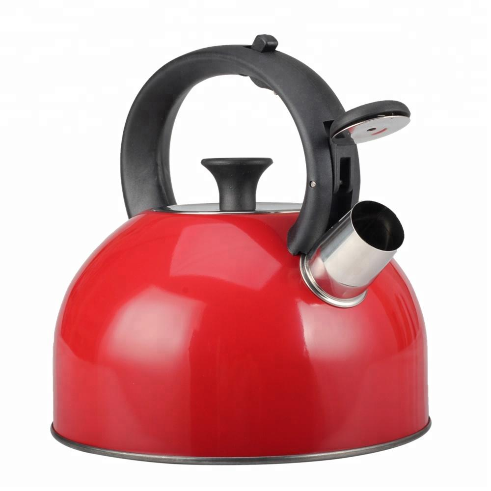 Hot Selling Product Boiler Stainless Steel Water Bottle Nice Looking Colorful Whistling Kettle