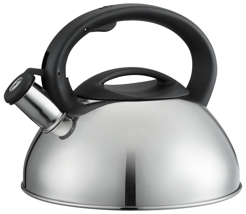 induction single bottom colorful SS whistling non-electric tea infuser kettle with color paint
