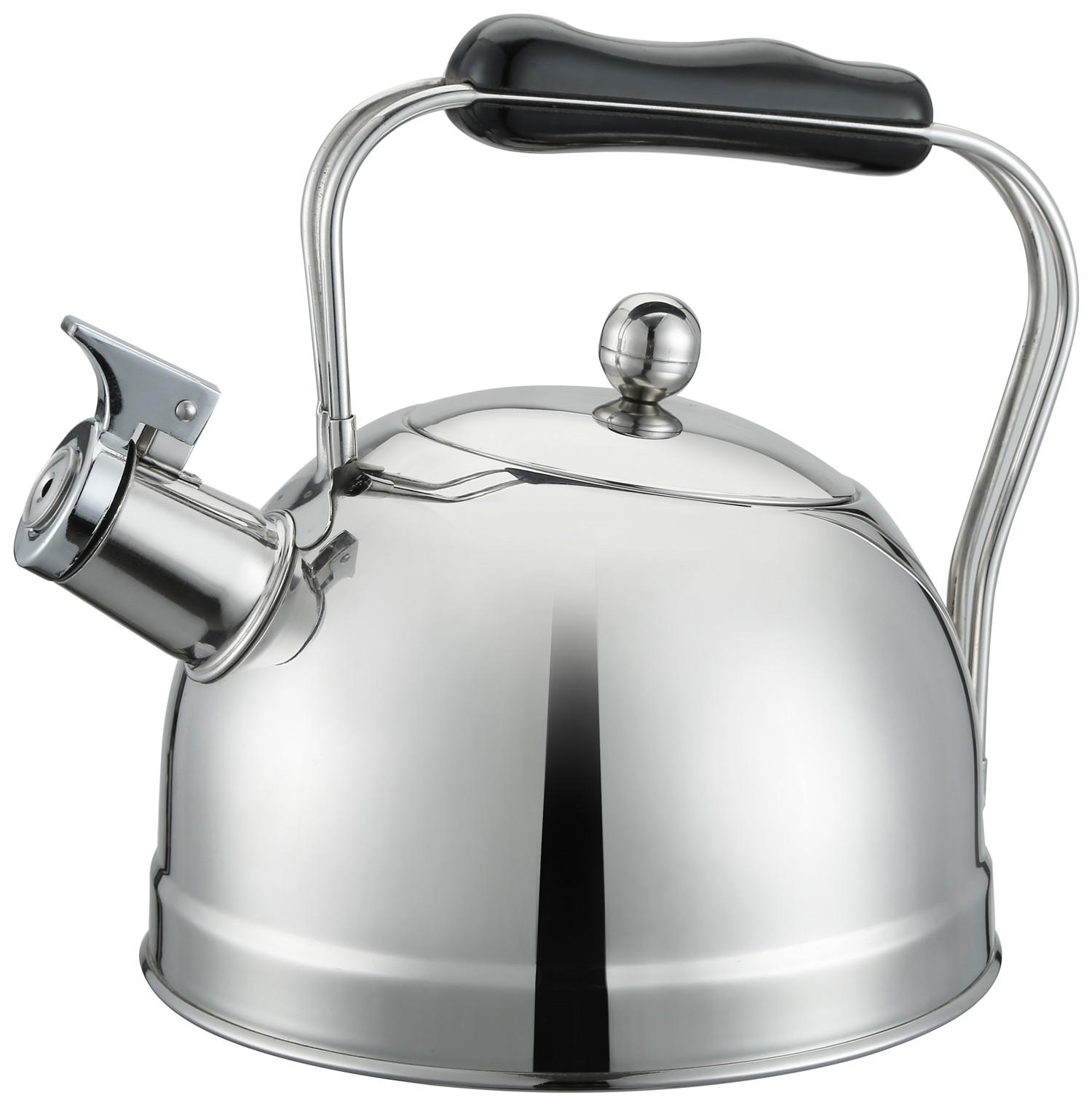 Stainless steel stove top whistling water kettle non electric