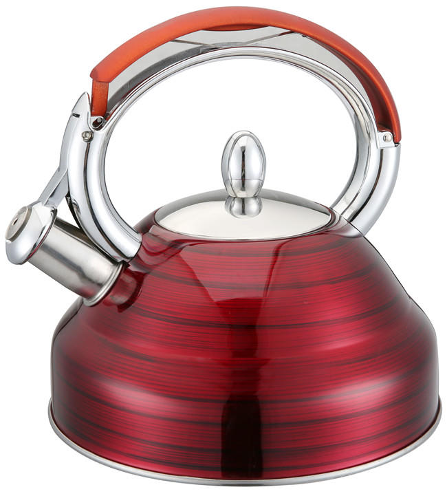 Tri-ply Copper Clad Cookware, Apple shape whistling kettle Set